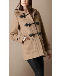 Burberry Brit | Natural Four Pocket Duffle Coat | Lyst