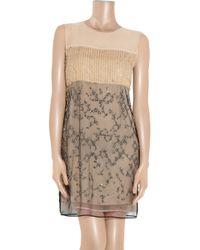 3.1 Phillip Lim | Natural Embellished Silk Dress | Lyst