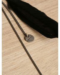 Ann Demeulemeester - Black Feather Pin - Lyst
