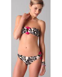 Brette Sandler Swimwear | Black Nikki Bandeau Bikini | Lyst