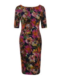 Erdem | Multicolor Melanie Dress | Lyst