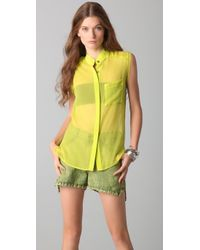 Kimberly Taylor | Yellow Aruba Top | Lyst