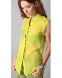 Kimberly Taylor - Yellow Aruba Top - Lyst