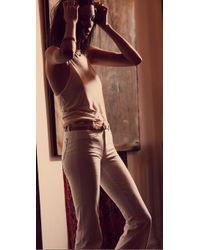 M.i.h Jeans - White Marrakesh Kick Flare Jeans - Lyst