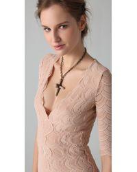 Nightcap   Natural Deep Victorian Lace Dress   Lyst