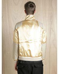 Sasquatchfabrix | Metallic Mens Pimp Stadium Jacket for Men | Lyst
