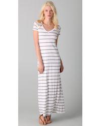 Splendid | White Nutmeg Stripe Dress | Lyst