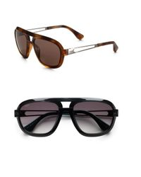 Tod's | Brown Navigator Sunglasses for Men | Lyst