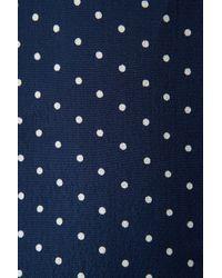 TOPSHOP | Blue Spot Strappy Button Sundress | Lyst