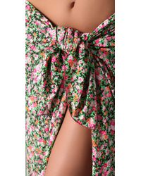 Tori Praver Swimwear | Multicolor Beach Sheet Cover Up | Lyst