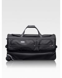 Tumi | Black Wheeled Split Duffle for Men | Lyst
