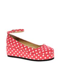 ASOS Collection | Pink Asos Verity Mary Jane Flatforms | Lyst