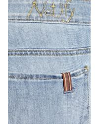 Notify - Blue Iris Mid-rise Flared Jeans - Lyst