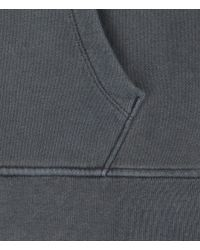 AllSaints - Blue Fox Zip Up Hoodie for Men - Lyst