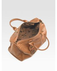 Longchamp - Brown Au Sultan Boston Satchel - Lyst