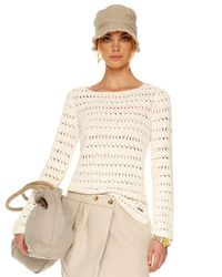 Michael Kors | Natural Crochet Tunic | Lyst