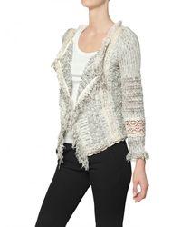Vanessa Bruno - Gray Croche Tweed with Fringing Jacket - Lyst