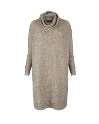 AllSaints | Gray Takizen Nep Jumper Dress | Lyst