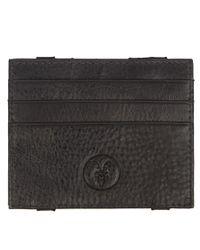 AllSaints - Gray Reverse Wallet for Men - Lyst