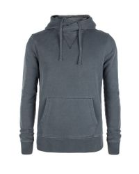 AllSaints | Blue Devoran Hoodie for Men | Lyst