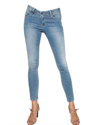 Burberry Brit | Blue Westbourne Skinny Stretch Denim Jeans | Lyst