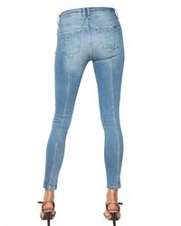 Burberry Brit | Blue Westbourne Skinny Stretch Denim Jeans | Lyst