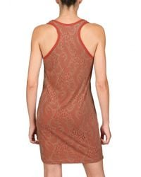 CLU | Orange Lace Tank Dress | Lyst