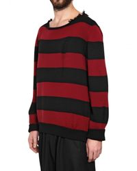 Dead Meat | Red Striped Sweater for Men | Lyst