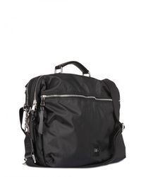 Dolce & Gabbana | Black Nylon and Leather Backpack Bag for Men | Lyst