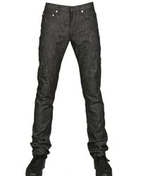 Dior Homme | Black 19cm Brut Denim Jeans for Men | Lyst
