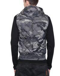 Dolce & Gabbana - Green Camouflage Nylon Vest Sport Jacket for Men - Lyst