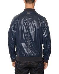 Dolce & Gabbana - Blue Shiny Nylon Sport Jacket for Men - Lyst