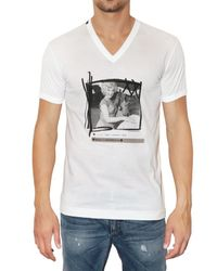 Dolce & Gabbana | White Marilyn Monroe Printed Jersey T-shirt for Men | Lyst