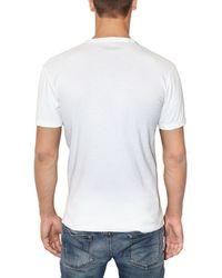 Dolce & Gabbana - White Playboy Printed Jersey T-shirt for Men - Lyst