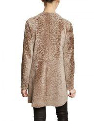 DROMe - Natural Reversible Astrakan Effect Shearling Fur - Lyst