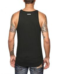 DSquared² | Black Tiger Print Jersey Tank Top for Men | Lyst