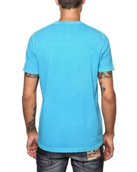 DSquared² | Blue Cotton Jersey Mykonos T-shirt for Men | Lyst