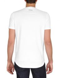 DSquared² - White Dog Logo T-shirt for Men - Lyst