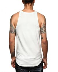 DSquared²   White Cotton Jersey Hot Muscle Tank Top for Men   Lyst