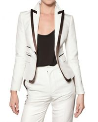 DSquared² - White Tuxedo Cotton Twill Suit - Lyst