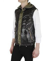 Duvetica | Black Anceo Hooded Nylon Sport Vest for Men | Lyst