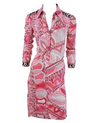 Emilio Pucci | Pink Dress | Lyst