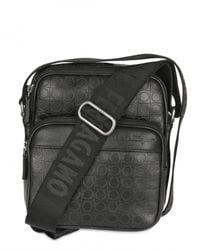 Ferragamo | Black Gamma Leather Bag for Men | Lyst