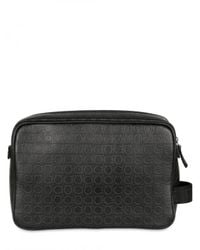 Ferragamo - Black Gamma Leather Bag for Men - Lyst