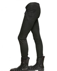 Gareth Pugh | Black Stretch Denim Leggings Jeans for Men | Lyst