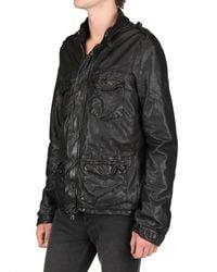 Giorgio Brato   Black Sahariana Nappa Leather Jacket for Men   Lyst