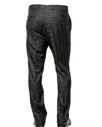 Givenchy - Blue Silk Blend Checked Cool Wool Suit for Men - Lyst