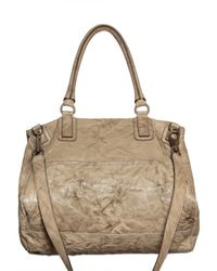 Givenchy - Natural Pandora Large Matt Washed Leather Should - Lyst