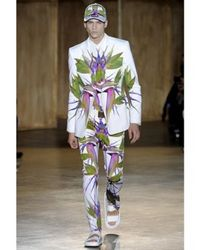 Givenchy | White Birds Of Paradise Printed Poplin Shirt for Men | Lyst