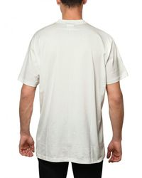 Givenchy - White Skull Print Jersey Oversized T-shirt for Men - Lyst